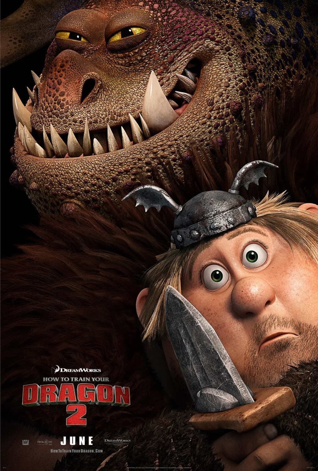 How to Train Your Dragon 2-Official Poster Banner PROMO CHAR XLRG-27JANEIRO2014-01