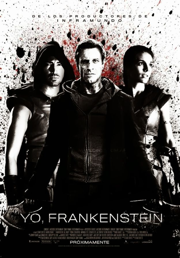 I Frankenstein-Official Poster Banner PROMO POSTER INTERNATIONAL-08JANEIRO2014