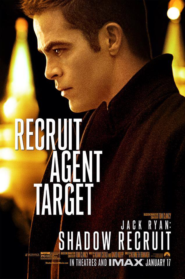 Jack Ryan Shadow Recruit-Official Poster Banner PROMO POSTER CHAR-05JANEIRO2013-01