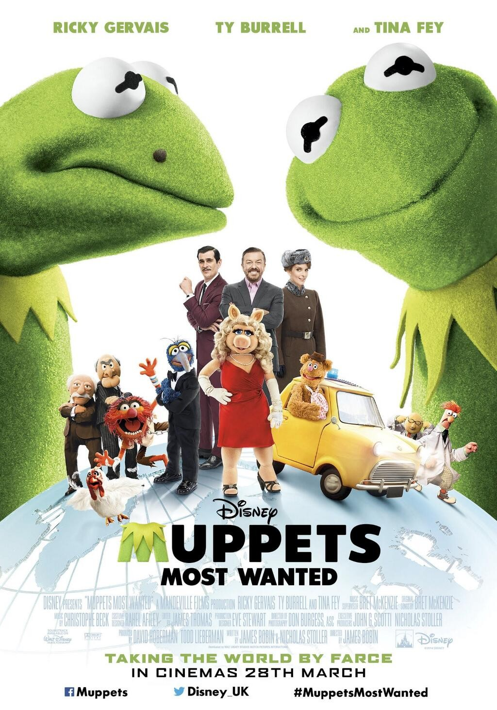 Muppets Most Wanted-Official Poster Banner PROMO POSTER-23JANEIRO2014
