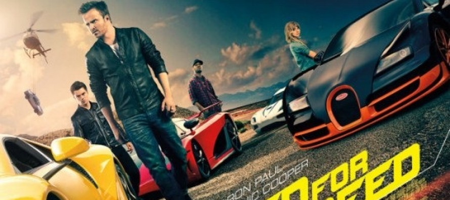 Veja o BANNER promocional inédito de NEED FOR SPEED, com Aaron Paul e Dominic Cooper