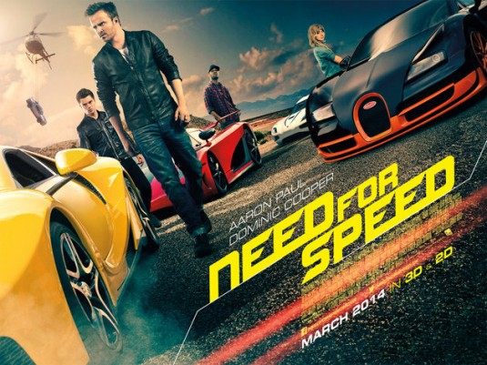 Need for Speed-Official Poster Banner PROMO BANNER-17JANEIRO2014