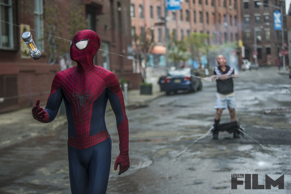 THE AMAZING SPIDER-MAN 2-Official Poster Banner PROMO PHOTOS-17JANEIRO2014-07