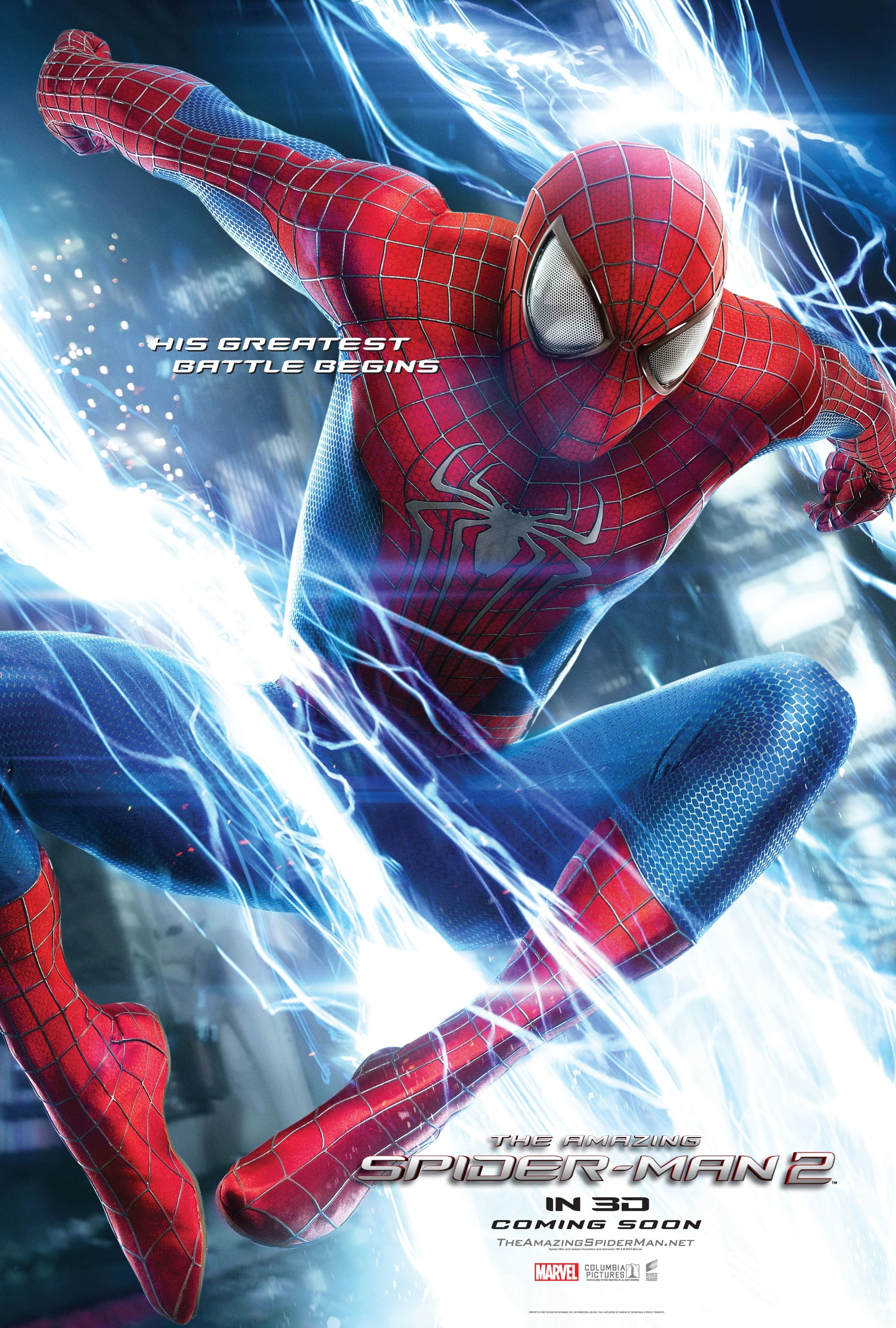 The Amazing Spider-Man 2-Official Poster Banner PROMO POSTER XXLG-20JANEIRO2014-01
