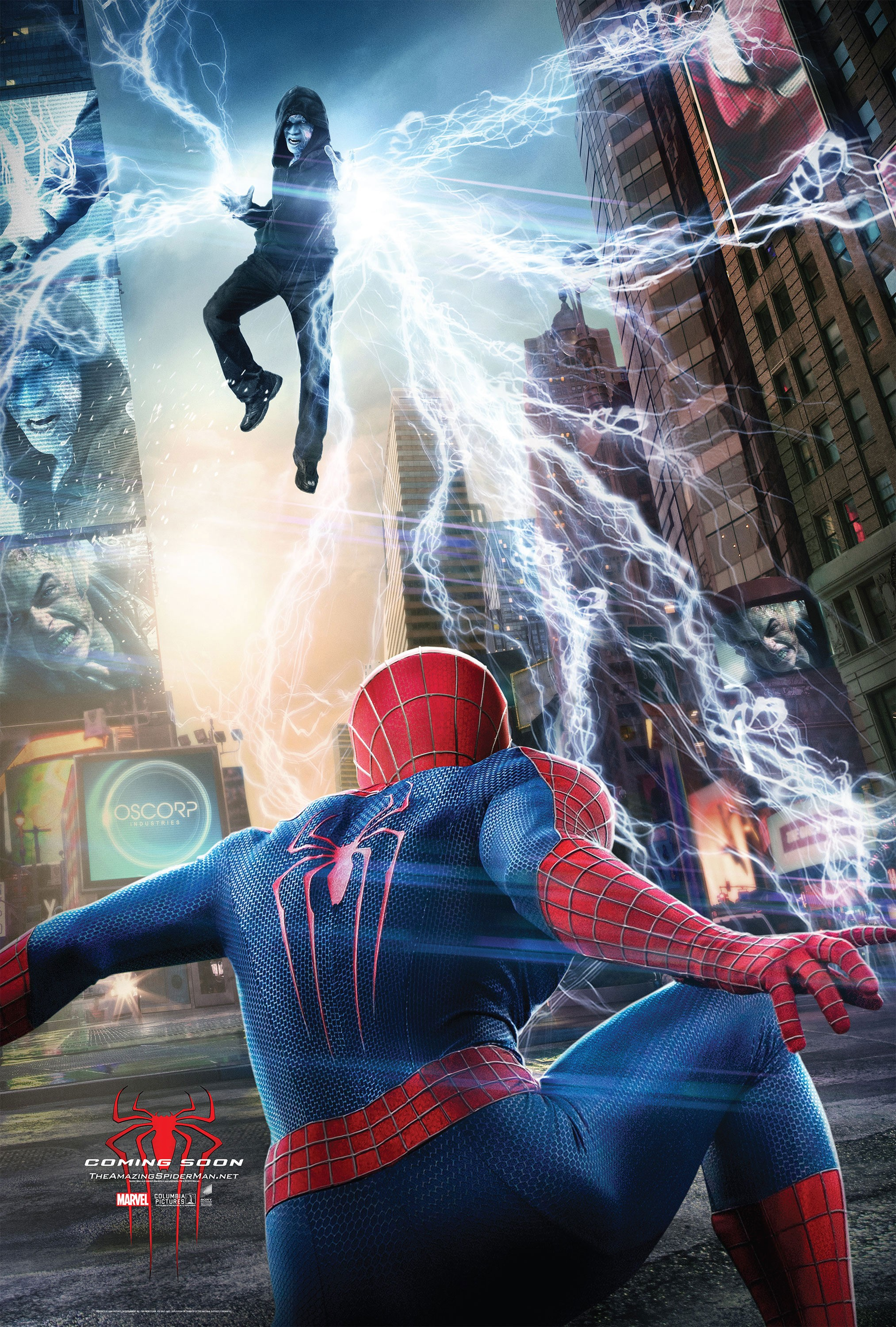 The Amazing Spider-Man 2-Official Poster Banner PROMO XLG-08JANEIRO2014-03