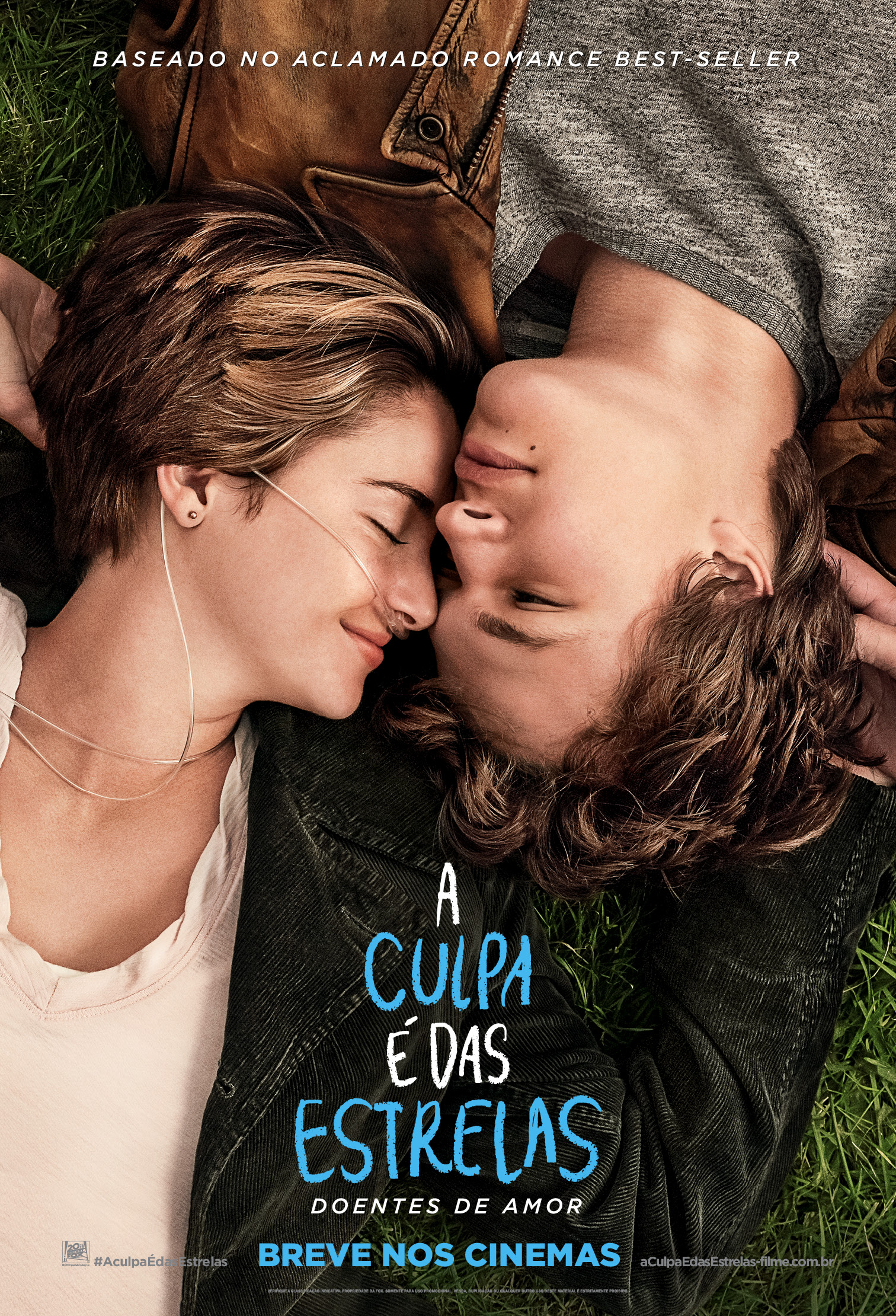 The Fault in Our Stars-Official Poster Banner PROMO NACIONAL-22JANEIRO2014