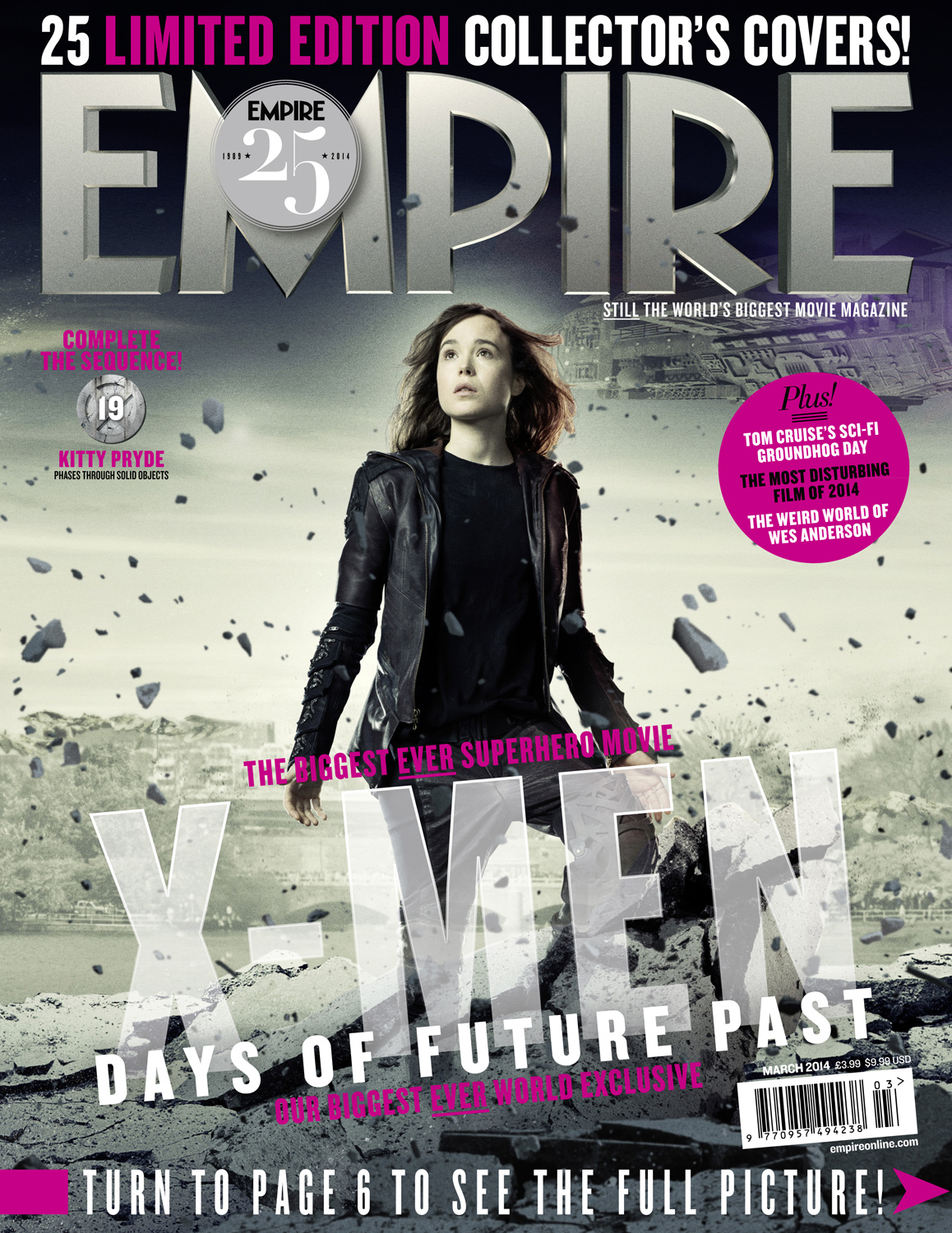 X-MEN DAYS OF FUTURE PAST-Official Poster Banner PROMO EMPIRE COVER-28JANEIRO2014-04