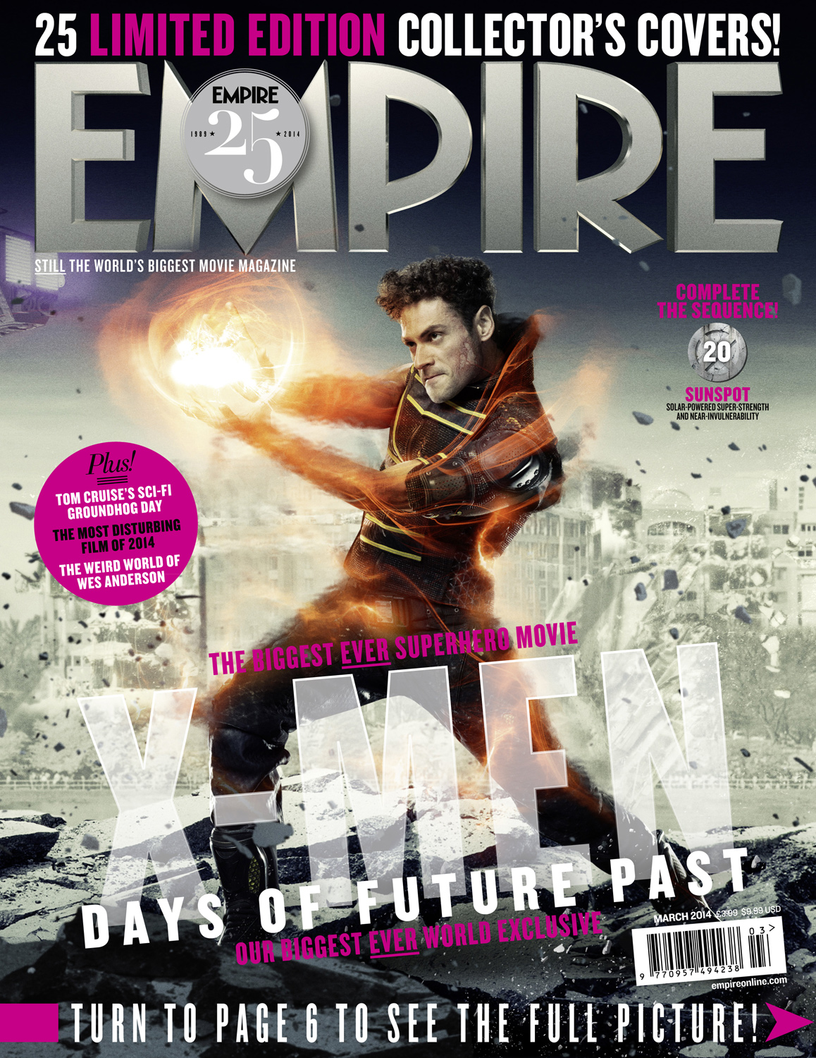 X-MEN DAYS OF FUTURE PAST-Official Poster Banner PROMO EMPIRE COVER-28JANEIRO2014-05