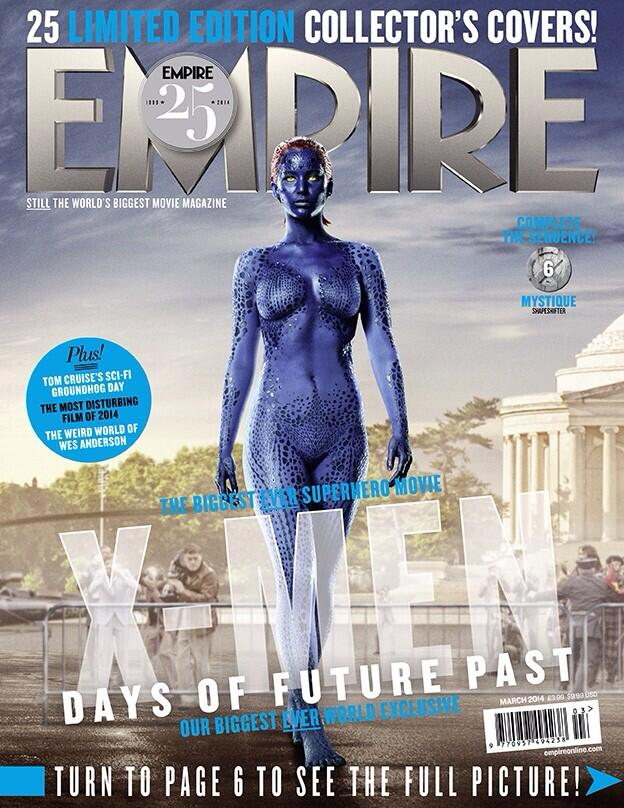 X-MEN DAYS OF FUTURE PAST-Official Poster Banner PROMO EMPIRE COVER-28JANEIRO2014-06