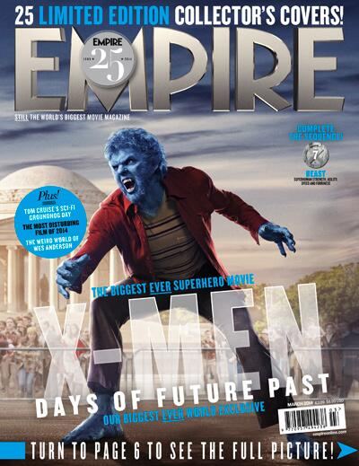 X-MEN DAYS OF FUTURE PAST-Official Poster Banner PROMO EMPIRE COVER-28JANEIRO2014-07