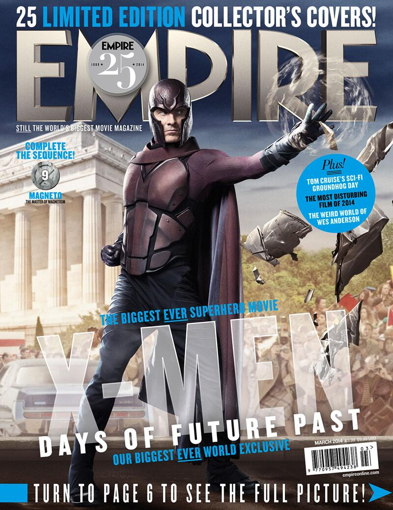 X-MEN DAYS OF FUTURE PAST-Official Poster Banner PROMO EMPIRE COVER-28JANEIRO2014-09