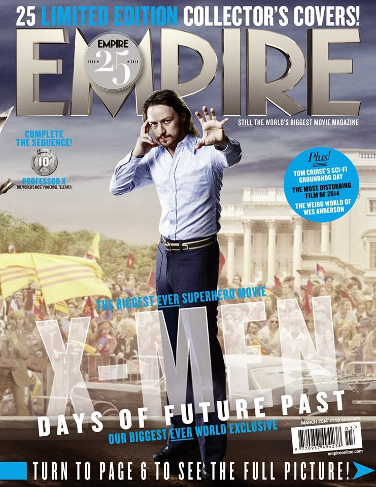 X-MEN DAYS OF FUTURE PAST-Official Poster Banner PROMO EMPIRE COVER-28JANEIRO2014-10