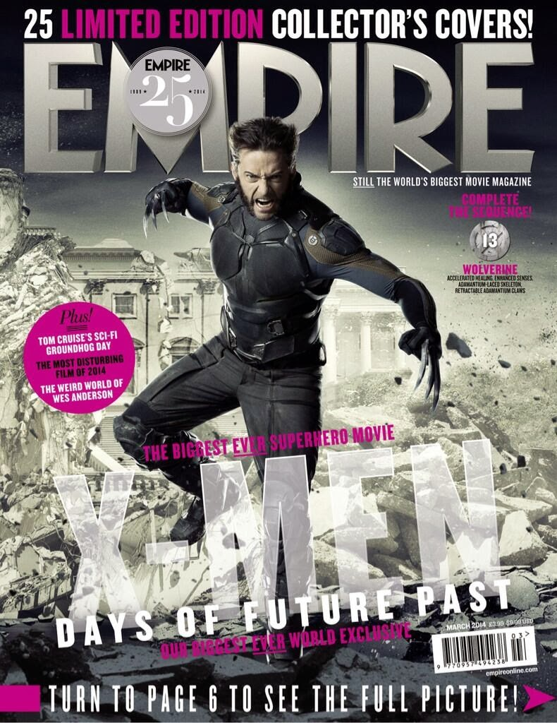 X-MEN DAYS OF FUTURE PAST-Official Poster Banner PROMO EMPIRE COVER-28JANEIRO2014-11