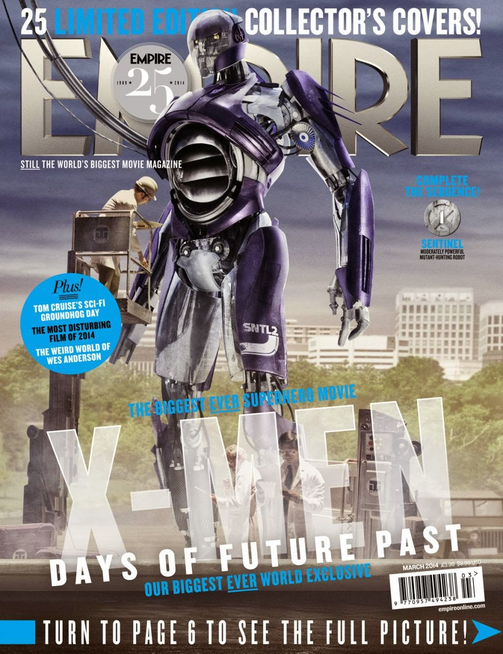 X-MEN DAYS OF FUTURE PAST-Official Poster Banner PROMO EMPIRE COVER-28JANEIRO2014-13