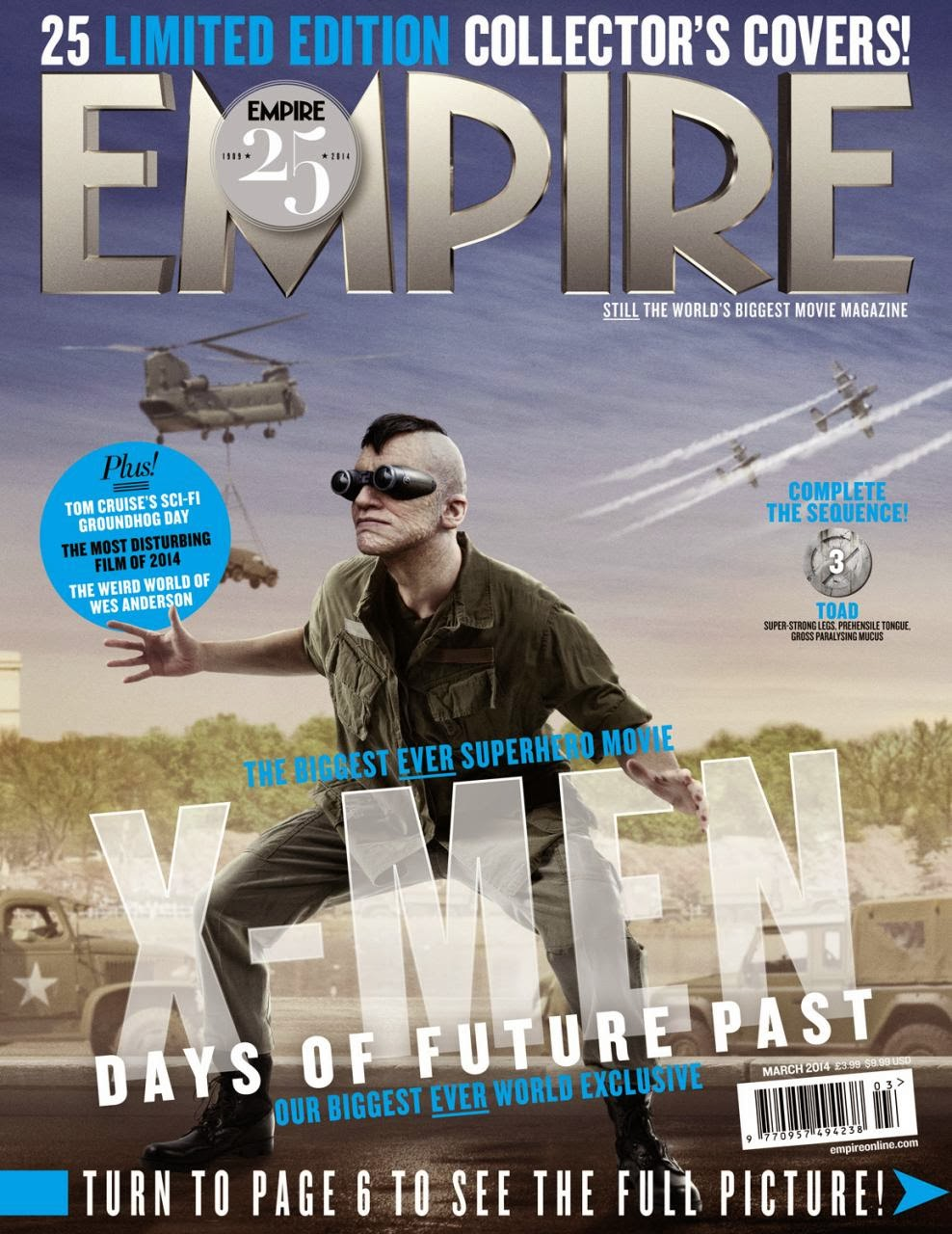 X-MEN DAYS OF FUTURE PAST-Official Poster Banner PROMO EMPIRE COVER-28JANEIRO2014-14