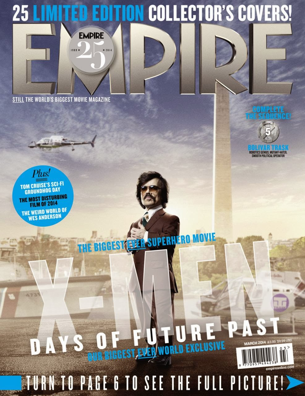X-MEN DAYS OF FUTURE PAST-Official Poster Banner PROMO EMPIRE COVER-28JANEIRO2014-16