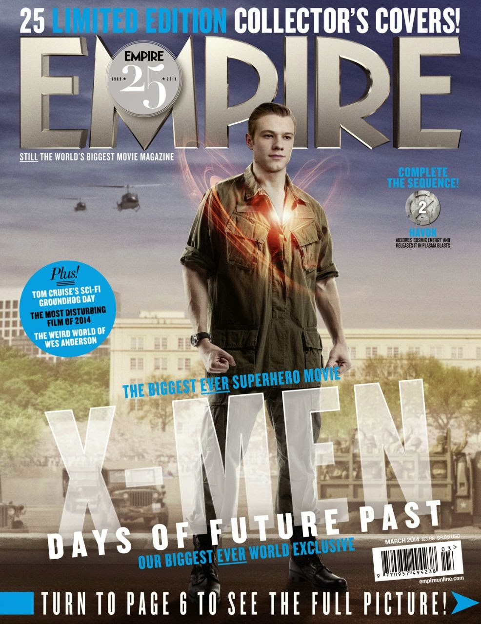 X-MEN DAYS OF FUTURE PAST-Official Poster Banner PROMO EMPIRE COVER-28JANEIRO2014-17
