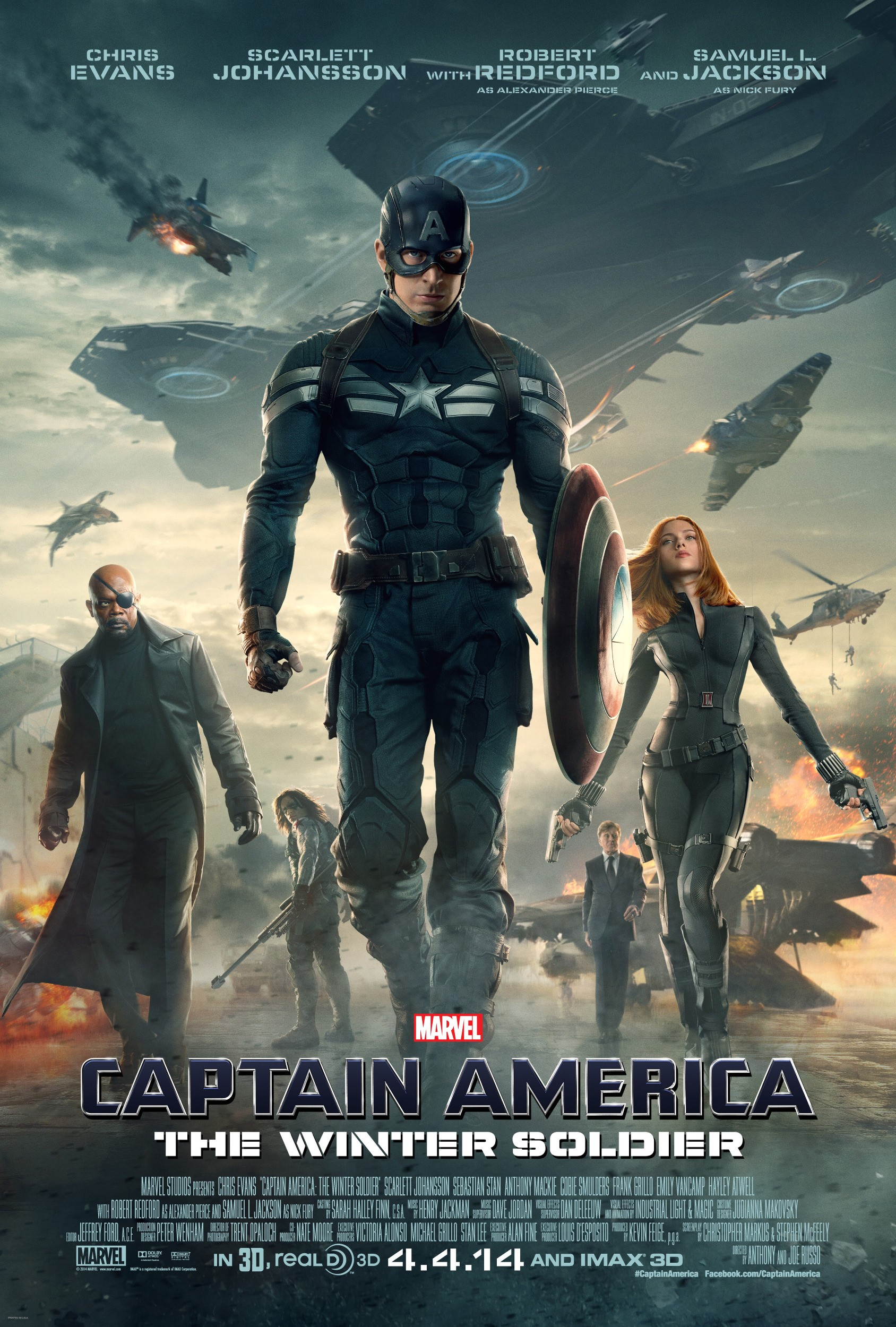 Captain America The Winter Soldier-Official Poster Banner PROMO XXLG-03FEVEREIRO2014-01