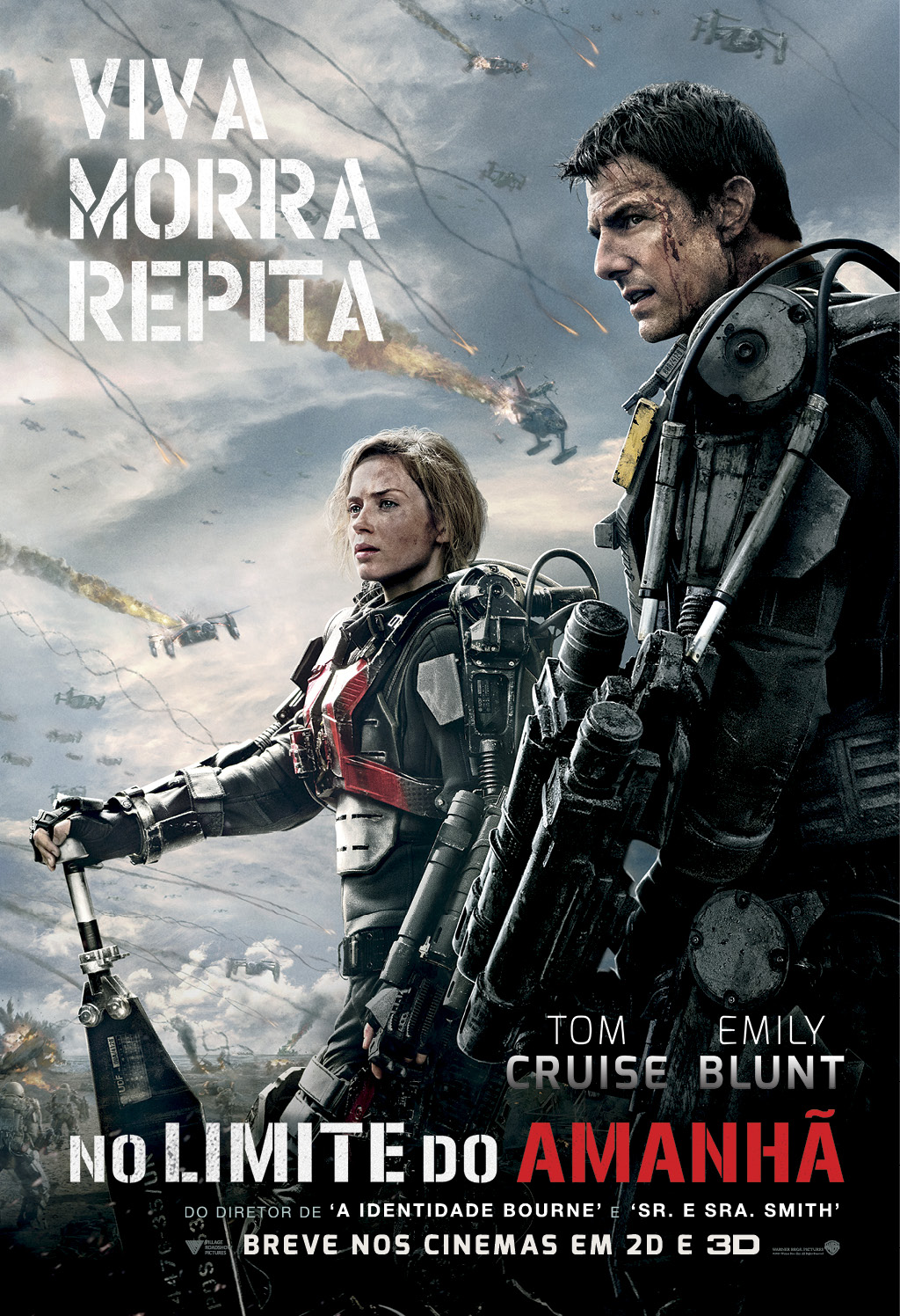 EDGE OF TOMORROW-Official Poster Banner PROMO XLG NACIONAL-14FEVEREIRO2014