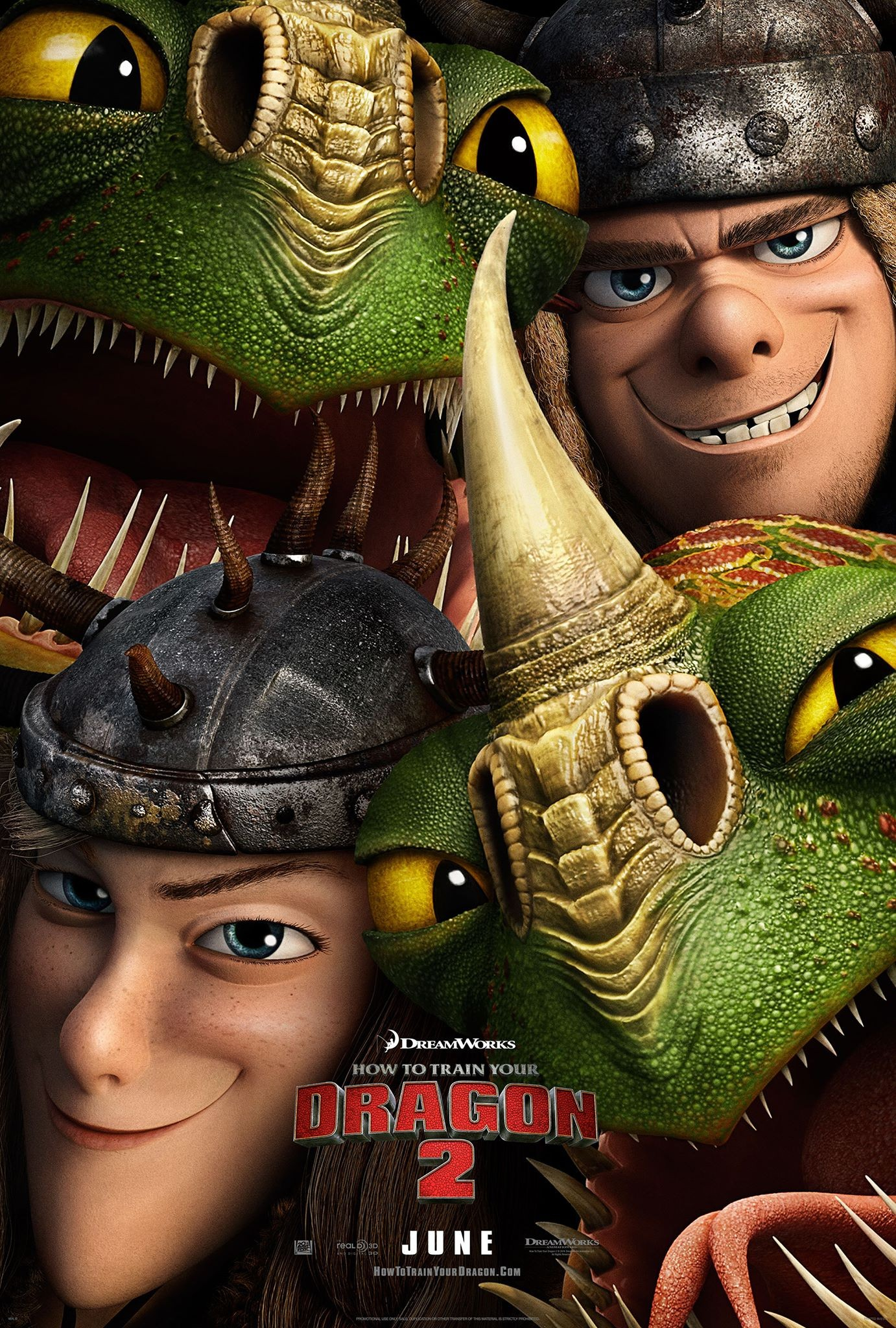 How to Train Your Dragon 2-Official Poster Banner PROMO POSTER XXLG-03FEVEREIRO2014