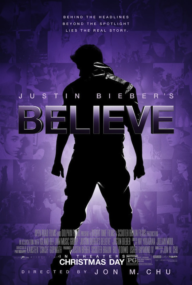 Justin Bieber's Believe-Poster Oficial