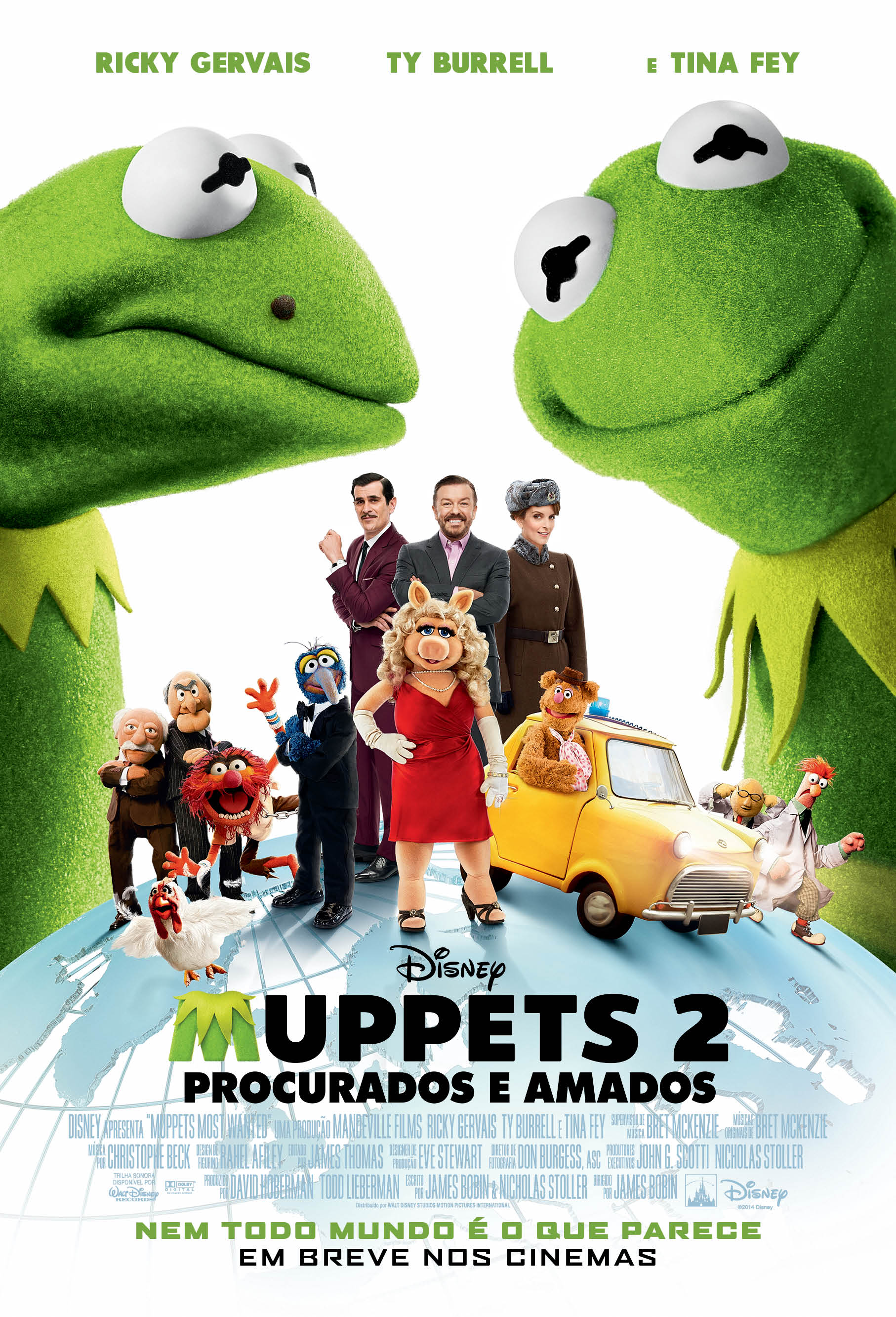 MUPPETS MOST WANTED-Official Poster Banner PROMO POSTER NACIONAL-04FEVEREIRO2014