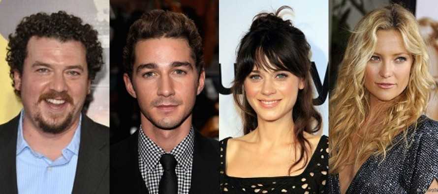 Shia LaBeouf, Danny McBride, Zooey Deschanel e Kate Hudson escalados na comédia ROCK THE KASBAH