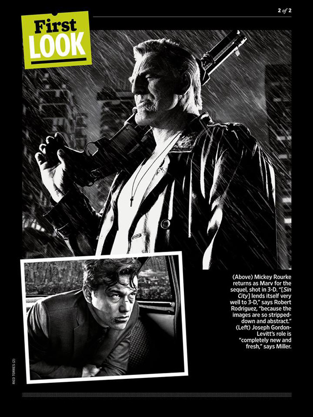 Sin City A Dame to Kill For-Official Poster Banner PROMO EW-28FEVEREIRO2014-02