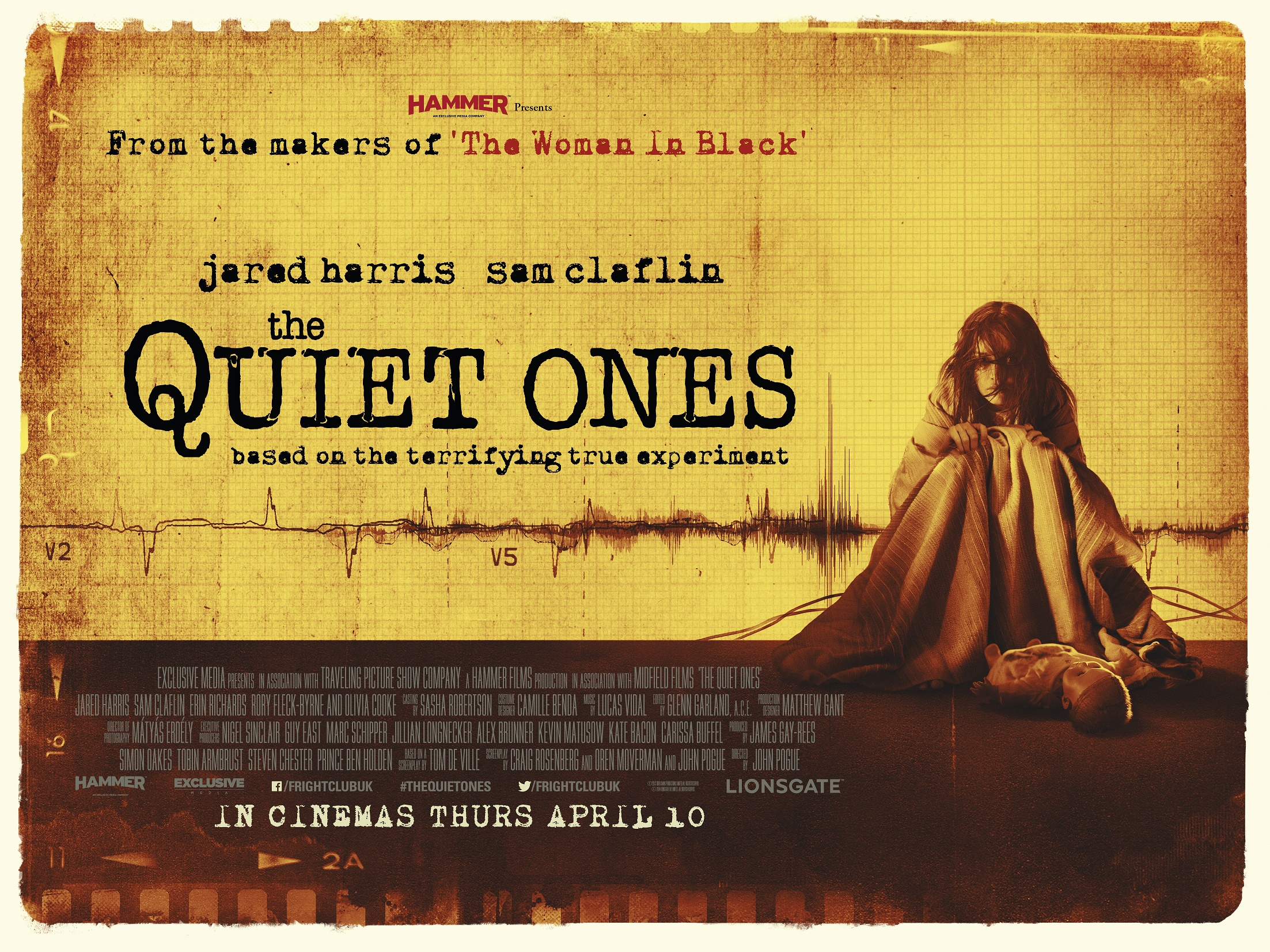 THE QUIET ONES-Official Poster Banner PROMO BANNER-11FEVEREIRO2014-01
