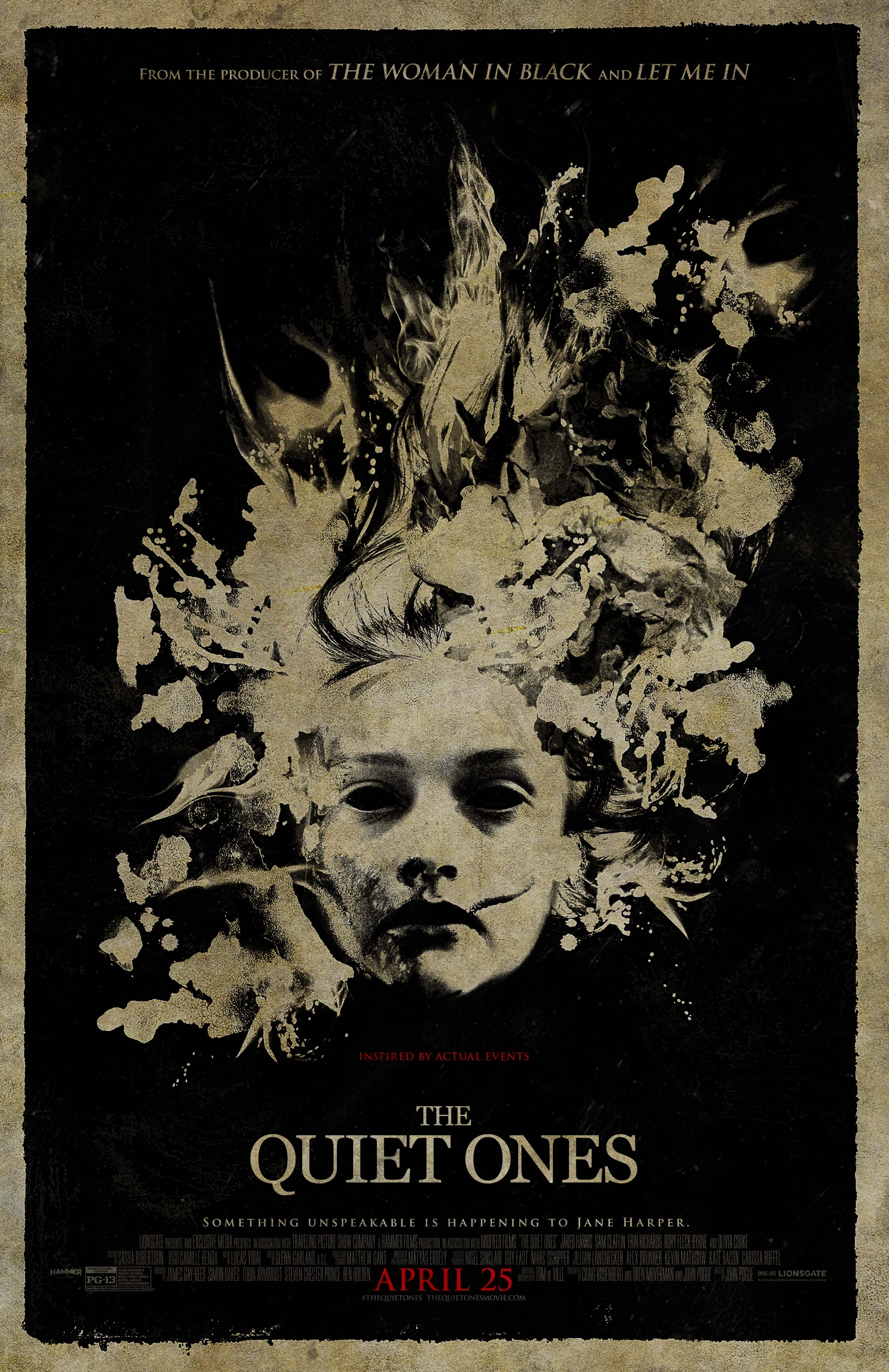THE QUIET ONES-Official Poster Banner PROMO POSTER-06FEVEREIRO2014