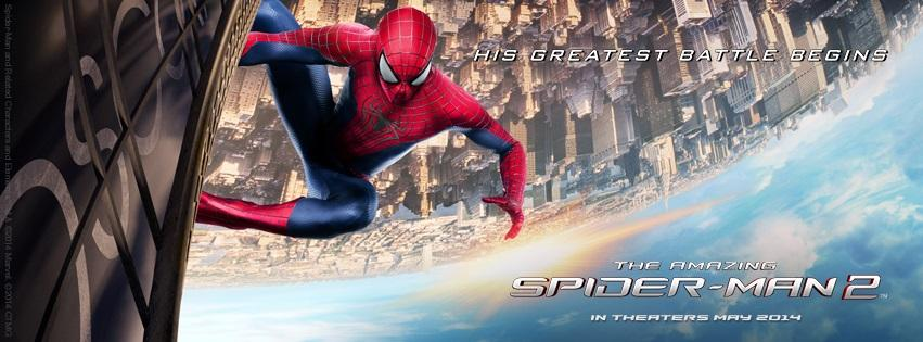 The Amazing Spider-Man 2-Official Poster Banner PROMO FACE-19FEVEREIRO2014