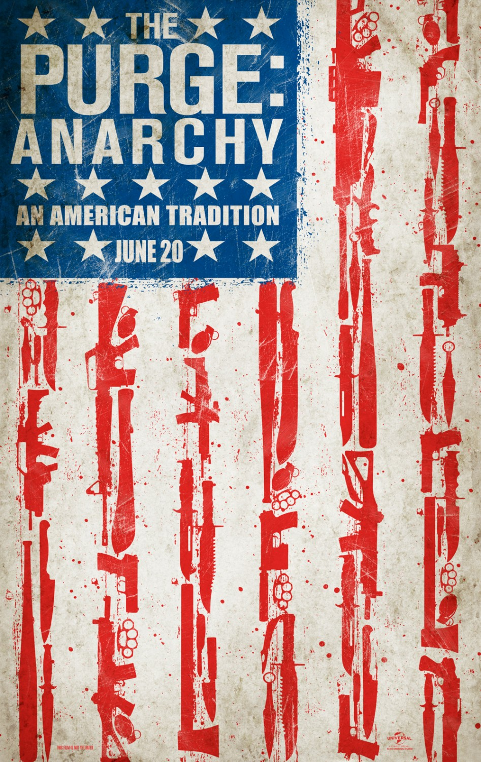 The Purge Anarchy-Official Poster Banner PROMO XLG-13FEVEREIRO2014