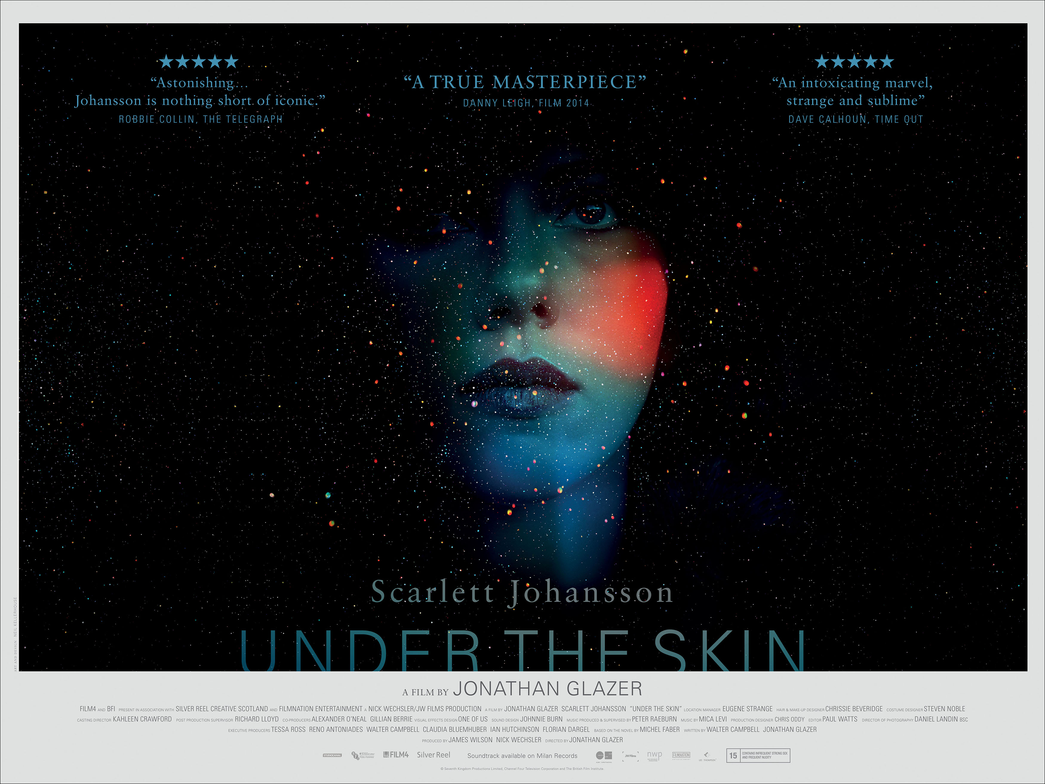 UNDER THE SKIN-Official Poster Banner PROMO BANNER XXLG-11FEVEREIRO2014