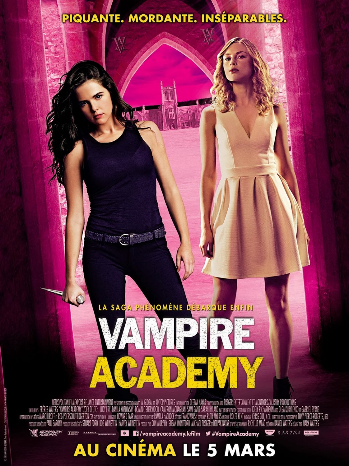 Vampire Academy-Official Poster Banner PROMO XLG INTERNATIONAL-18FEVEREIRO2014-01