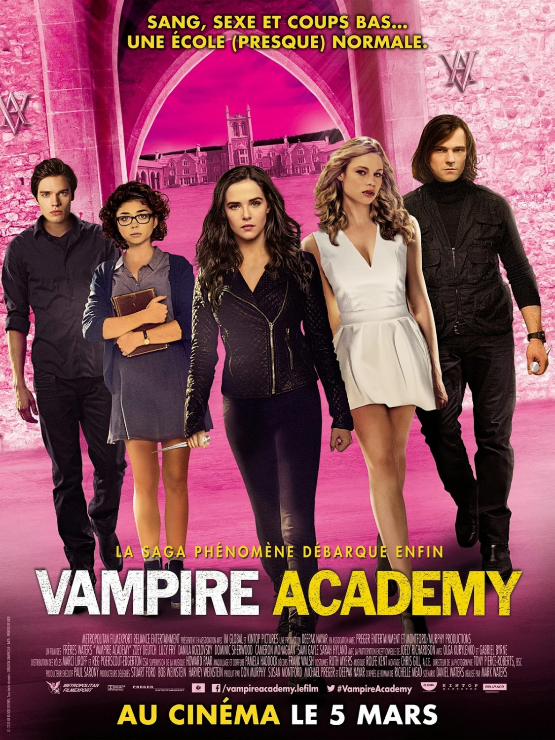 Vampire Academy-Official Poster Banner PROMO XLG INTERNATIONAL-18FEVEREIRO2014-02