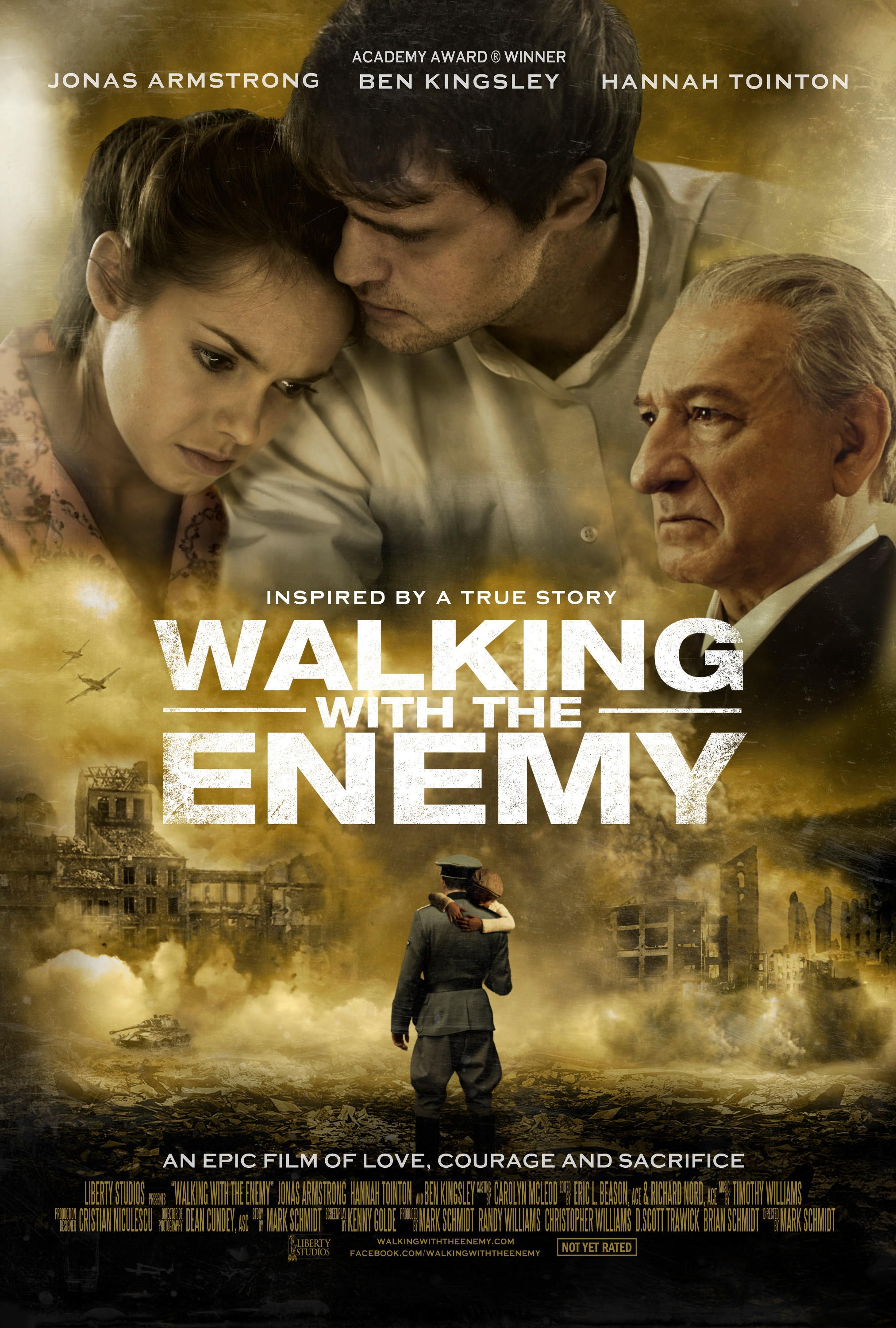 WALKING WITH THE ENEMY-Official Poster Banner PROMO-27FEVEREIRO2014-01