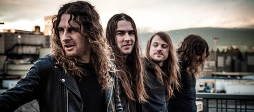 Airbourne no Manifesto Bar em Abril