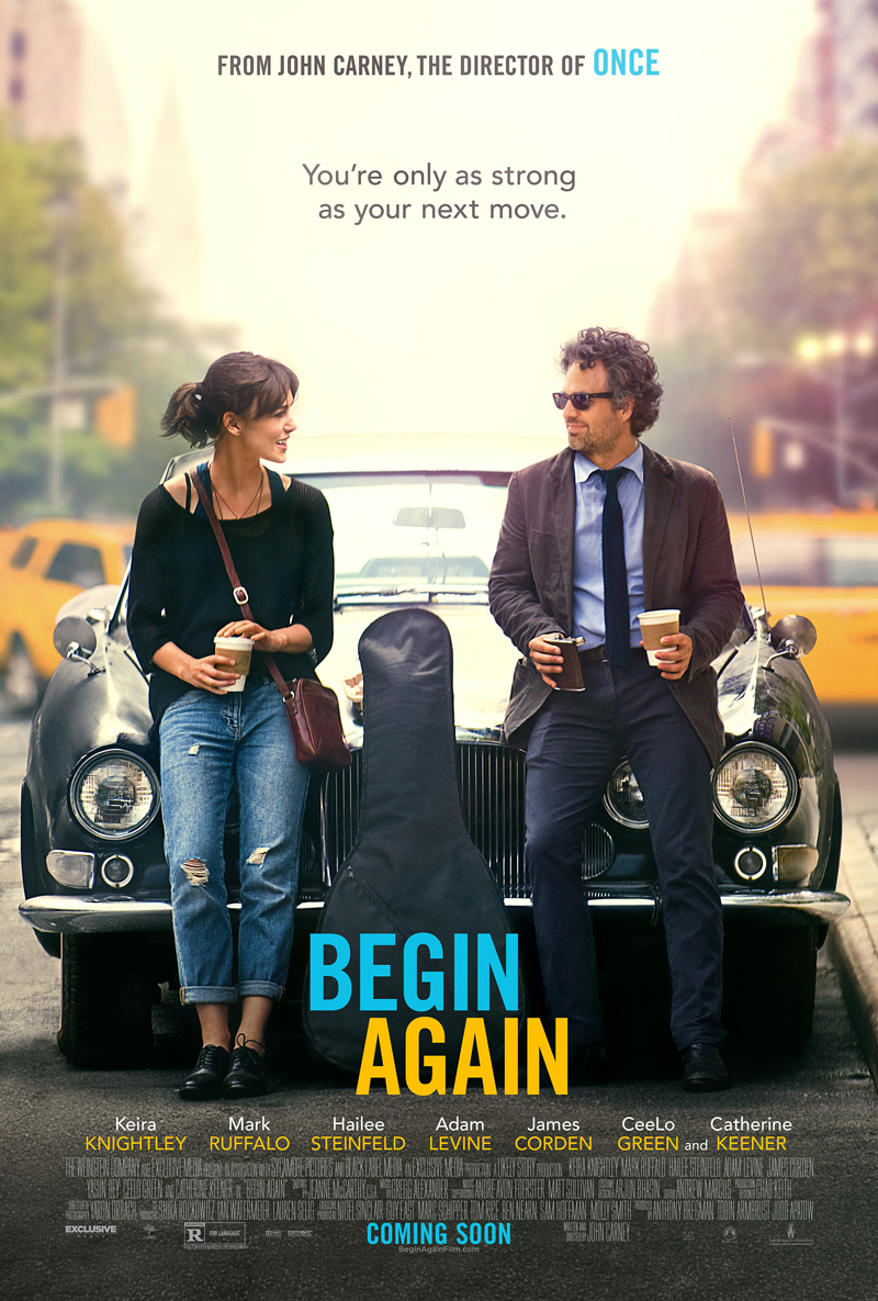 BEGIN AGAIN-Official Poster Banner PROMO XXLG-31MARCO2014-01