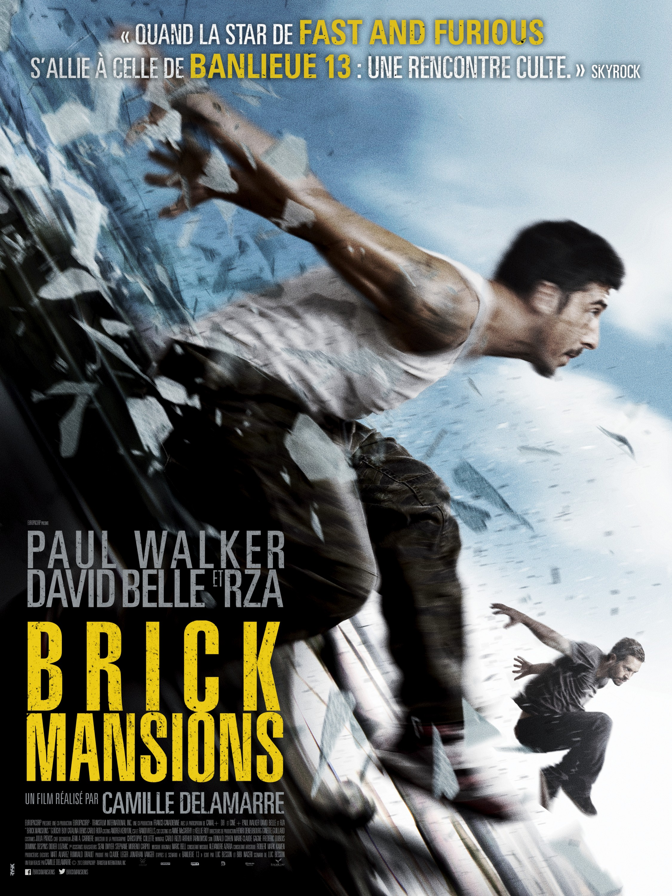 Brick Mansions-Official Poster Banner PROMO POSTER XLG-12MARCO2014-01