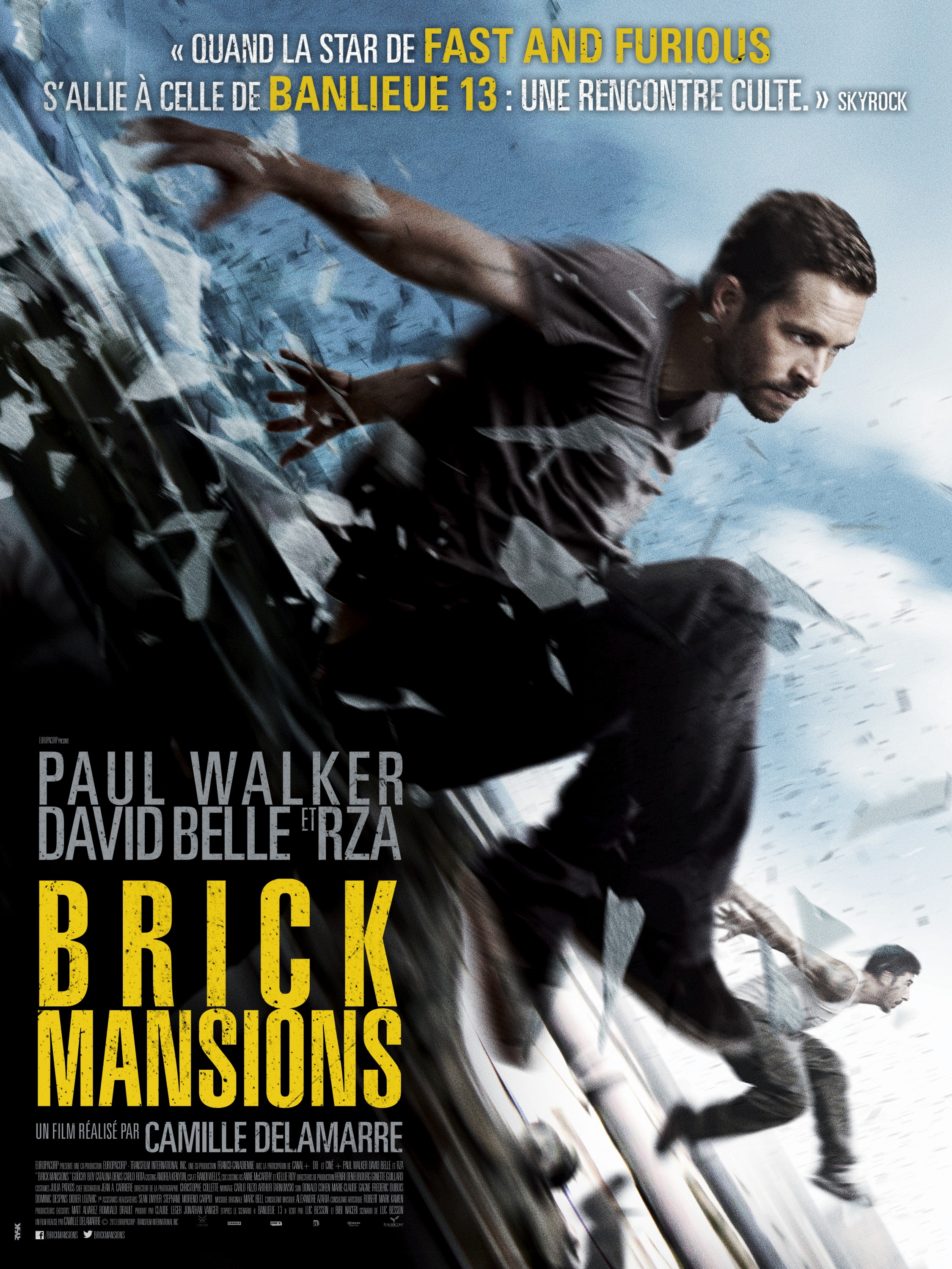 Brick Mansions-Official Poster Banner PROMO POSTER XLG-12MARCO2014-02