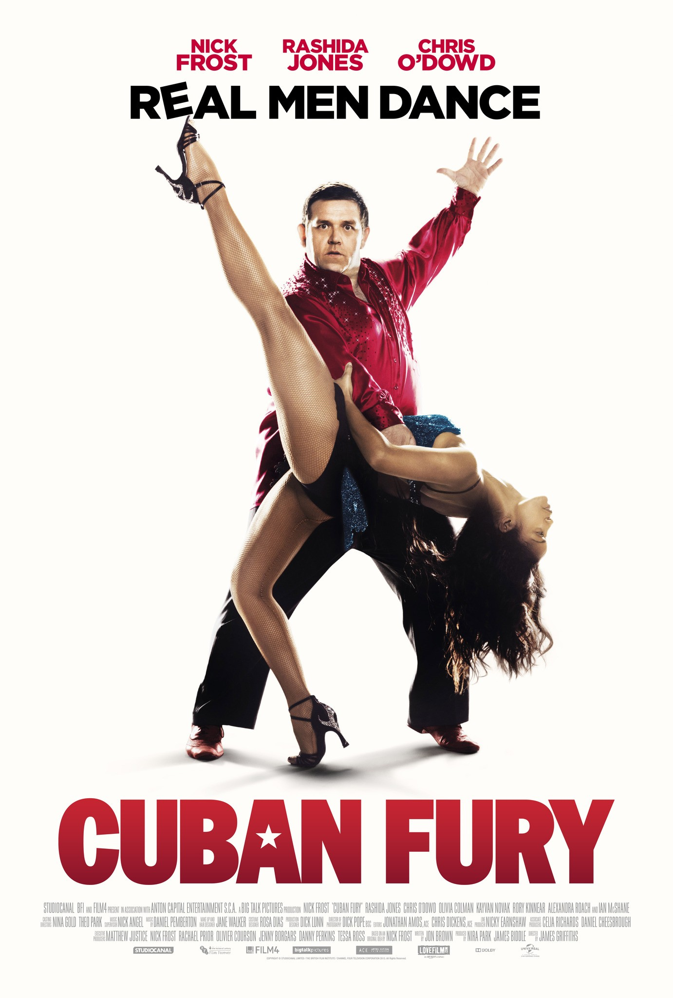 CUBAN FURY-Official Poster Banner PROMO XXLG-13MARCO2014