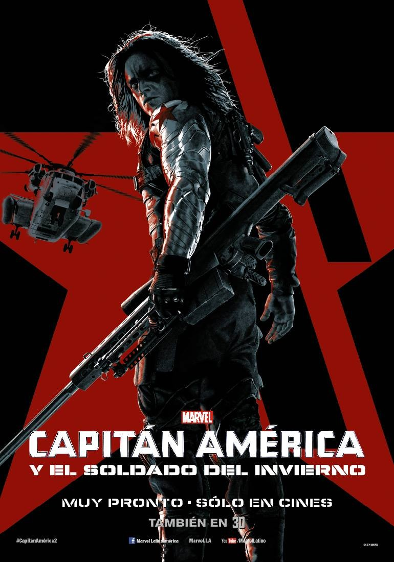 Captain America The Winter Soldier-Official Poster Banner PROMO XLG-14MARCO2014-01