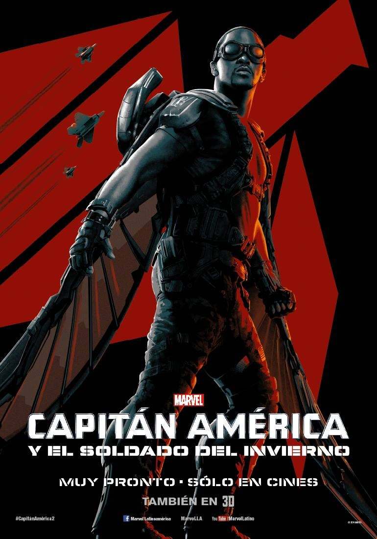 Captain America The Winter Soldier-Official Poster Banner PROMO XLG-14MARCO2014-02