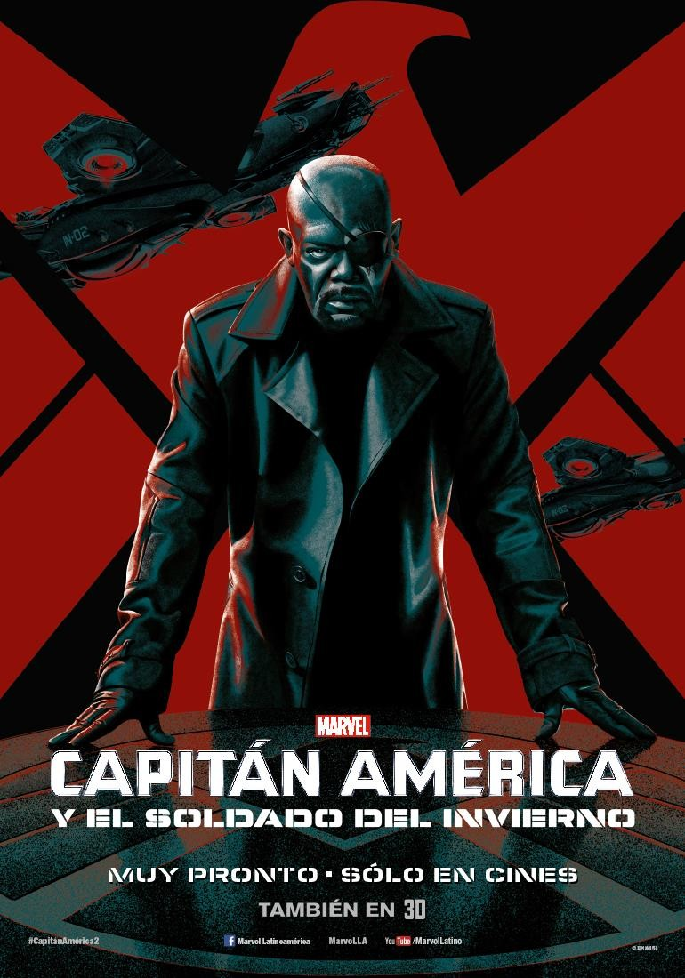 Captain America The Winter Soldier-Official Poster Banner PROMO XLG-14MARCO2014-03
