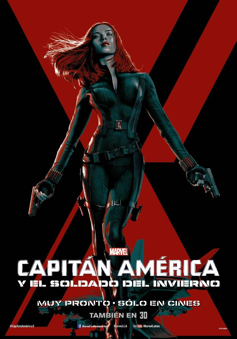 Captain America The Winter Soldier-Official Poster Banner PROMO XLG-14MARCO2014-04