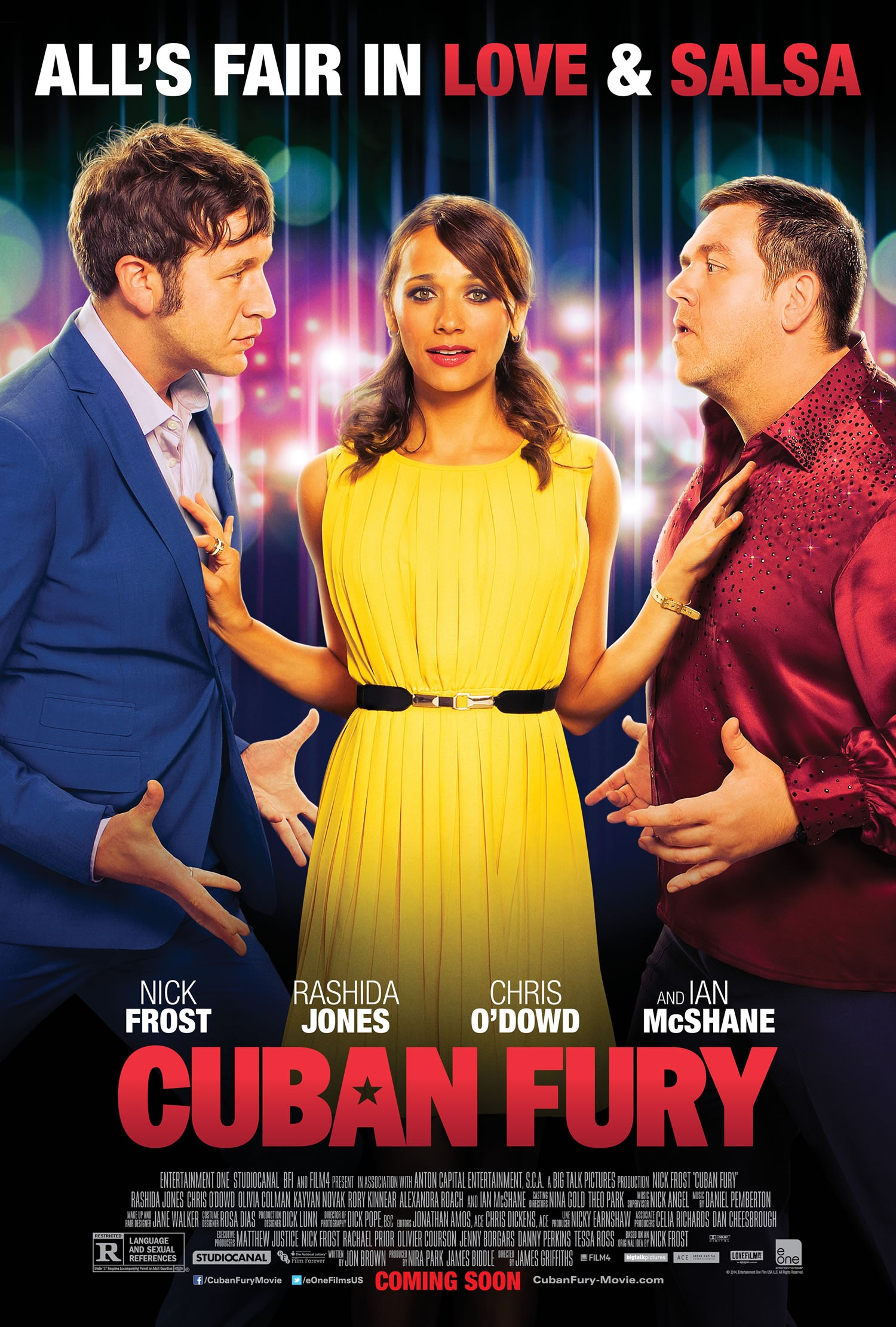 Cuban Fury-Official Poster Banner PROMO XXLG-26MARCO2014