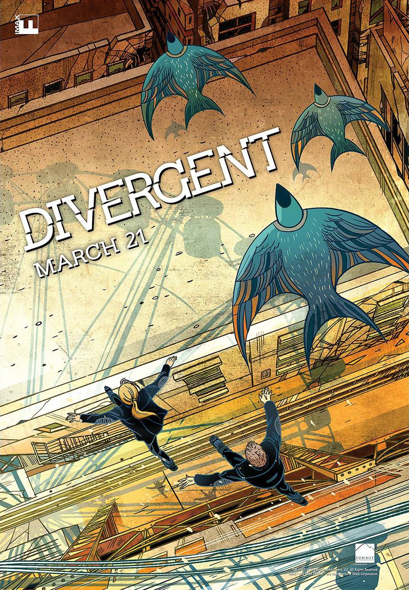 Divergent-Official Poster Banner PROMO XLG-06MARCO2014