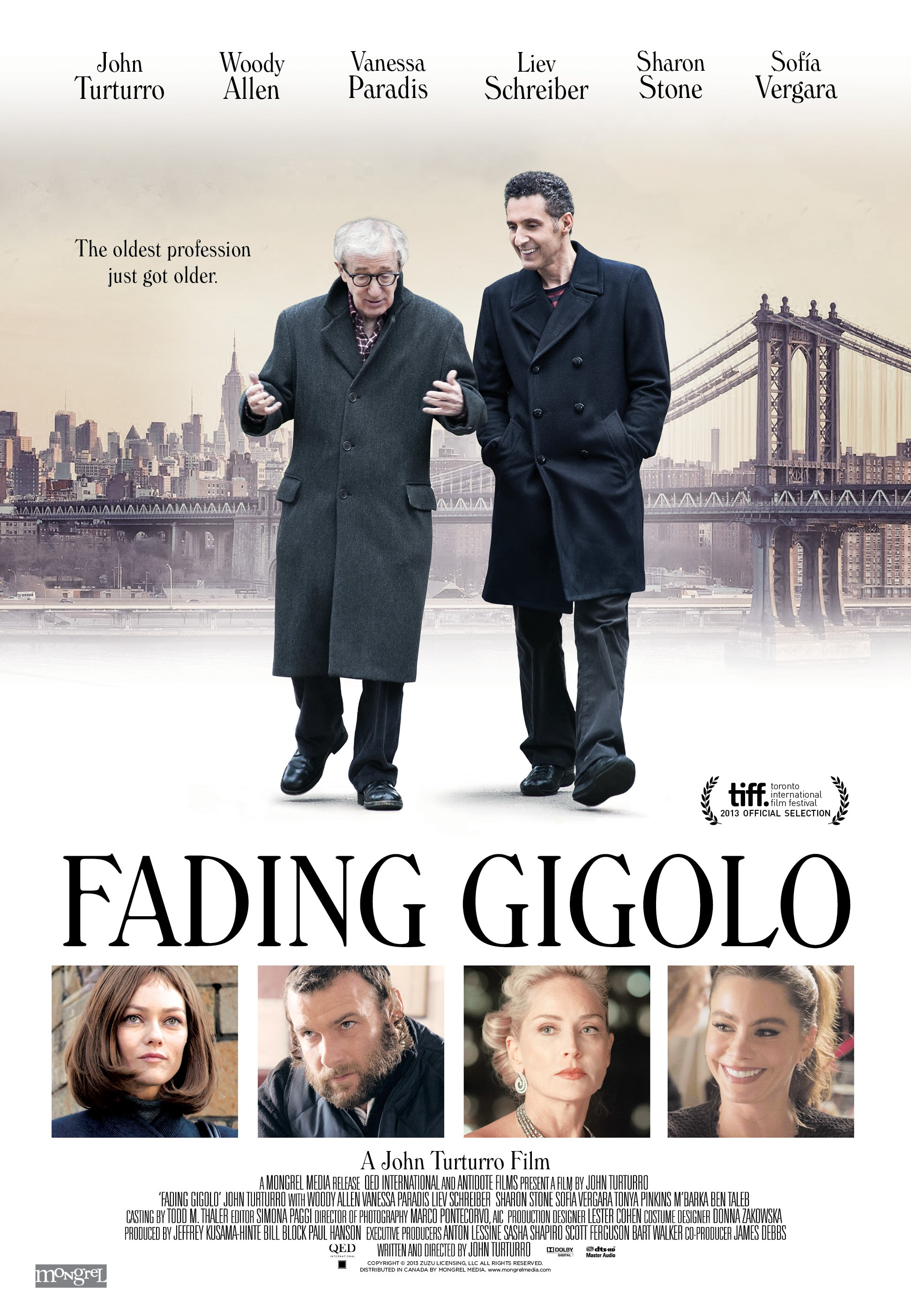 Fading Gigolo-Official Poster Banner PROMO POSTER XXLG-10MARCO2014
