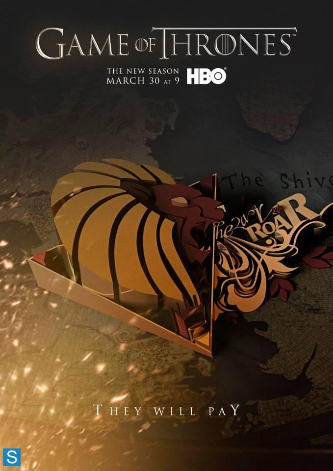 Game of Thrones-Season 4-Official Poster Banner PROMO-24MARCO2014-02