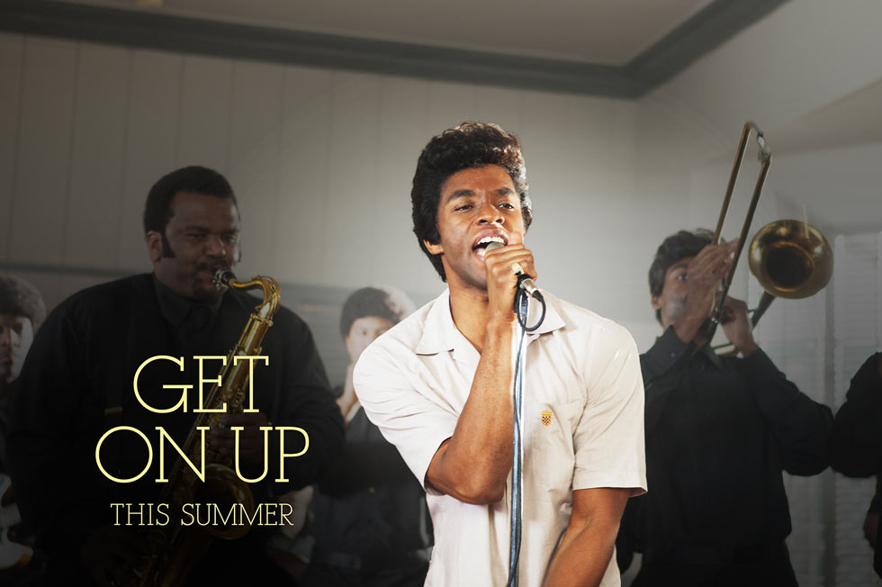 Get on Up-Official Poster Banner PROMO-14MARCO2014
